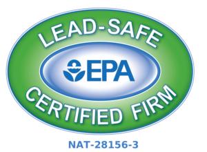 Lead Safe Certified Firm EPA